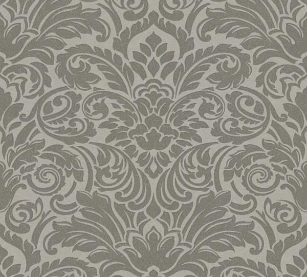 A.S. Création, Luxury wallpaper, # 305453, Vliestapete, Grau Metallic