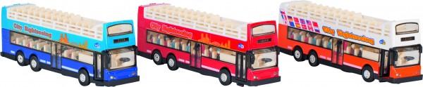 Sightseeing Bus Spritzguss, L= 18,3 cm