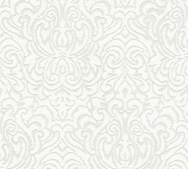 A.S. Création, Tessuto 2, # 961932, Vliestapete, Weiß