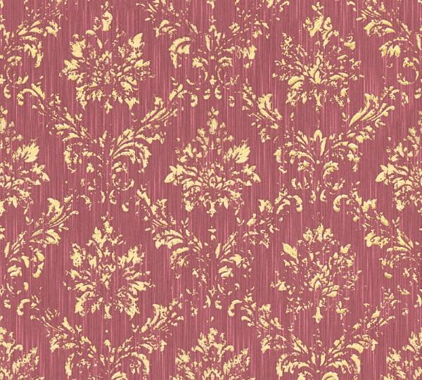 A.S. Création, Metallic Silk, # 306626, Vliestapete, Rot Metallic