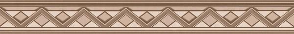 A.S. Création, Only Borders 10, # 936911, Borte, Folie (selbstklebend), Beige Braun Creme, 5,00 m x