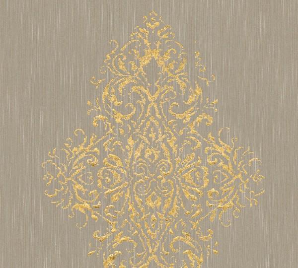 A.S. Création, Luxury wallpaper, # 319453, Vliestapete, Beige Metallic