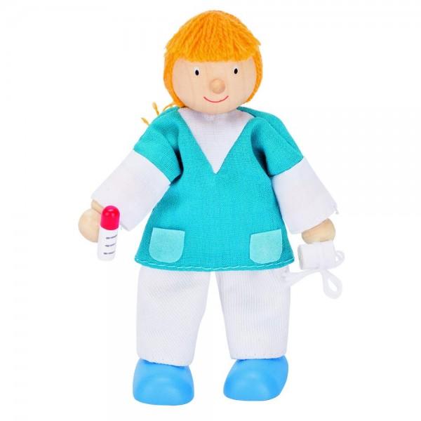 Biegepuppe Krankenschwester