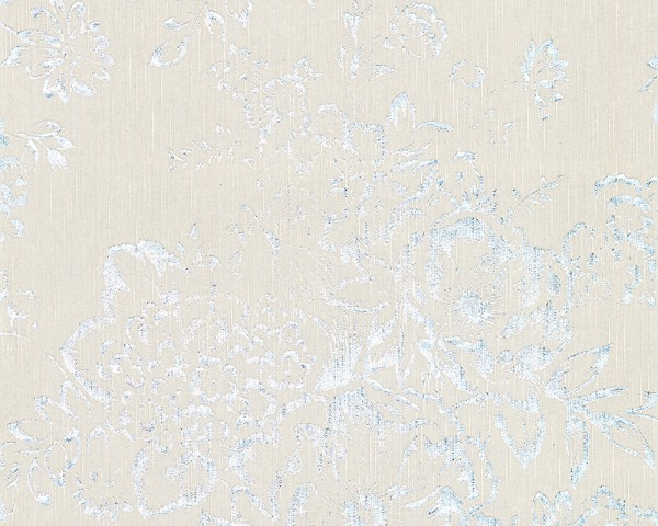 A.S. Création, Metallic Silk, # 306572, Vliestapete, Grau Metallic