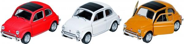 Fiat Nuova 500, Spritzguss, 1:34-39, L= 10,8 cm