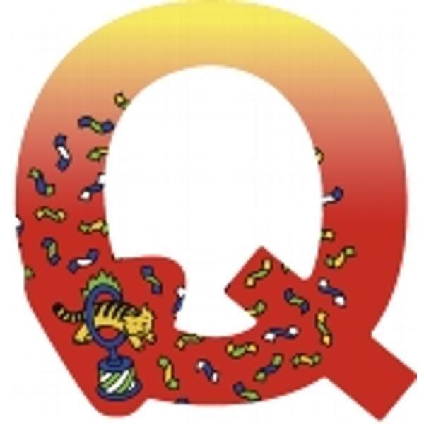 GOKI Holz-Buchstabe Q ( 6er Set )