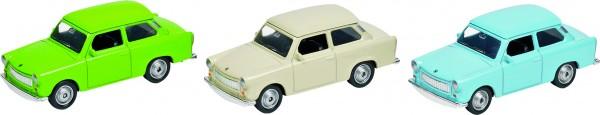 Trabant 601, Spritzguss, L= 7,6 cm