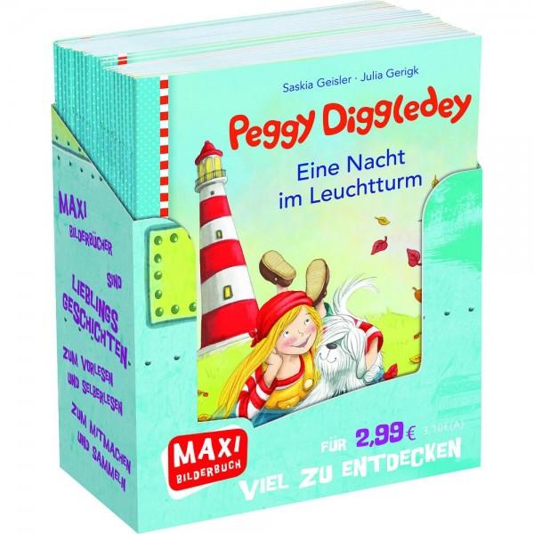 Maxibuch Peggy Diggledey - Inselabenteuer