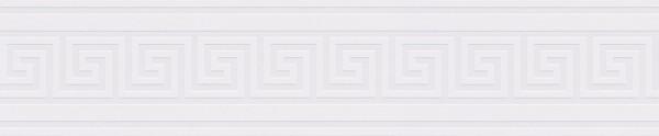 A.S. Création, Only Borders 10, # 936471, Borte, Folie (selbstklebend) Metallic Weiß, 5m x 0,13m