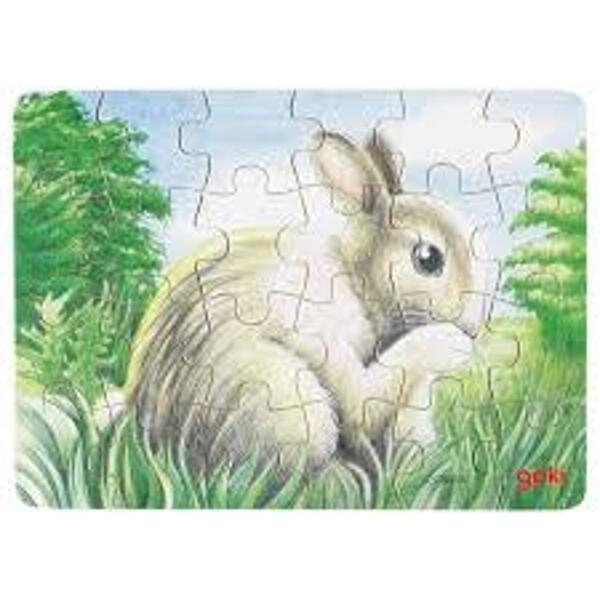 GOKI Minipuzzle Tierkinder