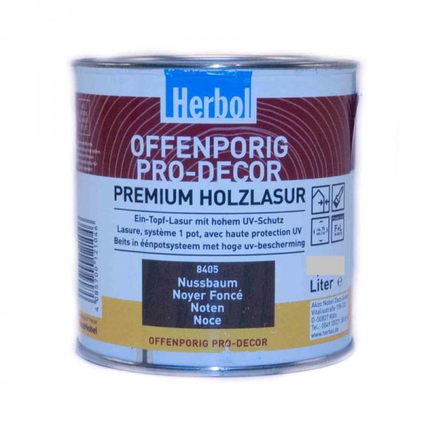Herbol - Offenporig Pro-Dec 2,5l, nussbaum #8405