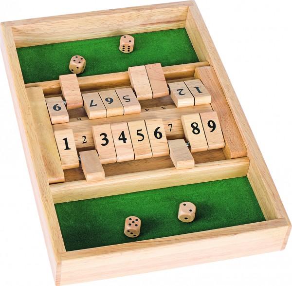 Doppelspiel Shut the box