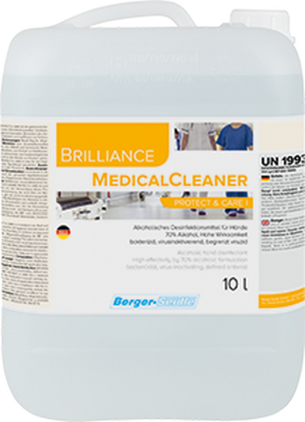 Berger-Seidle Handdesinfektion Brilliance MedicalCleaner Protect & Care