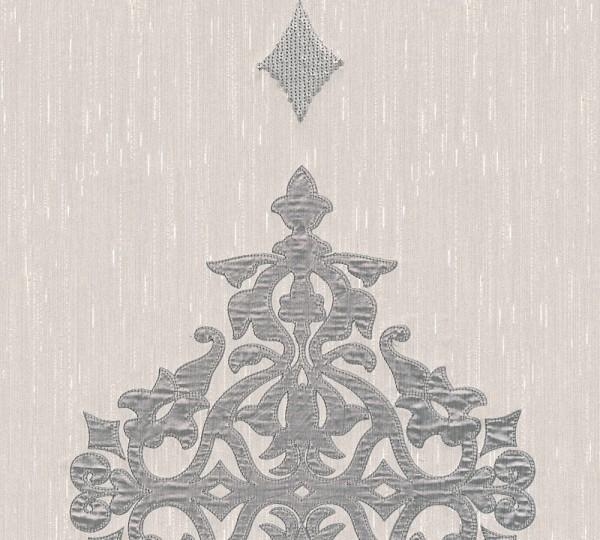A.S. Création, Wall Fashion, # 306173, Vliestapete, Creme Metallic, 3,20 m x 0,53 m