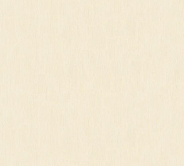 A.S. Création, Longlife Colours, # 960705, Vliestapete, Beige Creme, 10,05 m x 1,06 m