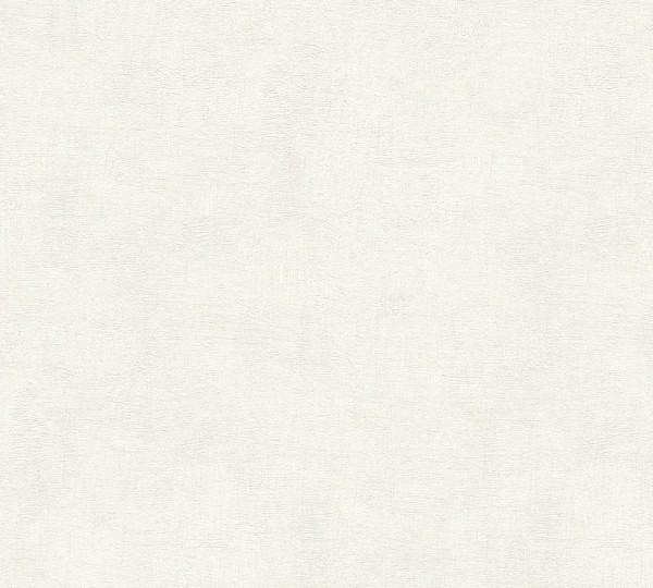 A.S. Création Tapete - Daniel Hecht.4, # 952621, uni, weiß, beige, 10,05m x 0,53m