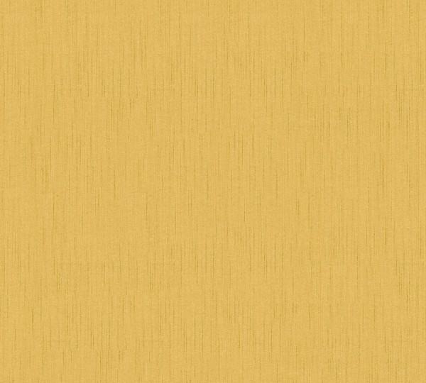 A.S. Création, Tessuto 2, # 968586, Vliestapete,uni, Gelb Weiß