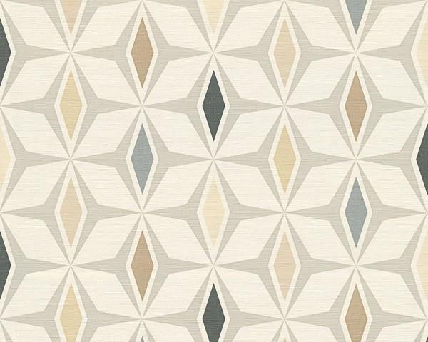 A.S. Création - Around The World, # 304763, skandinavischen Design, braun, grau, weiß,, 0,05m x 0,53