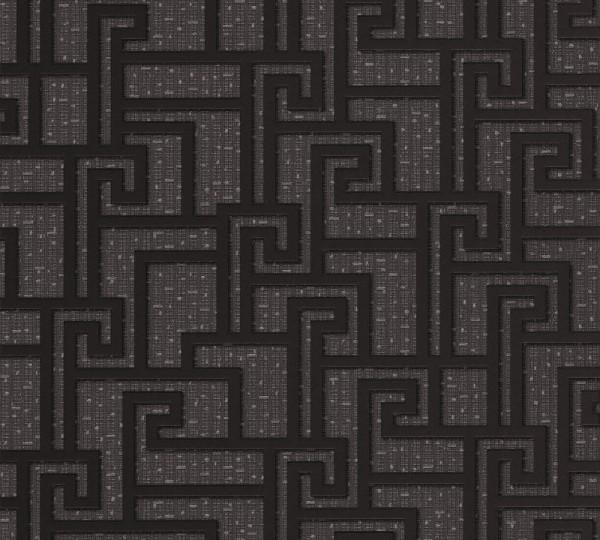 A.S. Création, Versace 2, # 962363, Vliestapete, Grau Metallic Schwarz, 10,05 m x 0,70 m