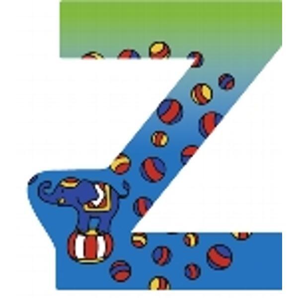 GOKI Holz-Buchstabe Z ( 6er Set )