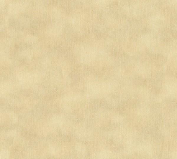 A.S. Création, Nobile, # 958935, Vliestapete, Gelb Metallic, 10,05 m x 0,70 m