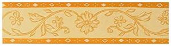 A.S. Création Only Borders10 , # 524133, floral, mediterran, terracotta, 5,00m x 0,13m