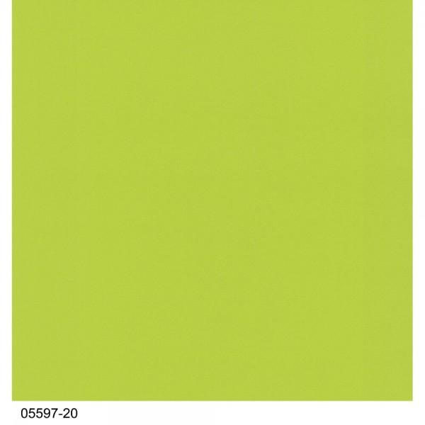 P+S Tapete 05597-20 Young Spirit, Uni Tapeten, grün, waschbeständig, gute Lichtbeständigkeit