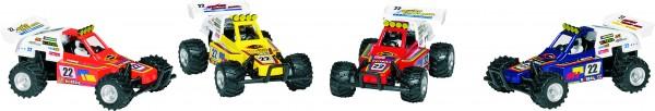Turbo Buggy aus Spritzguss, Kunststoff, L= 13 cm
