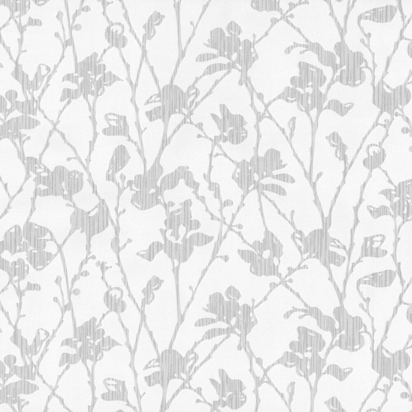 P+S Tapete 13224-30 Dieter Bohlen I, Florale Muster, weiß silber, hochwaschbeständig, gute Lichtbest