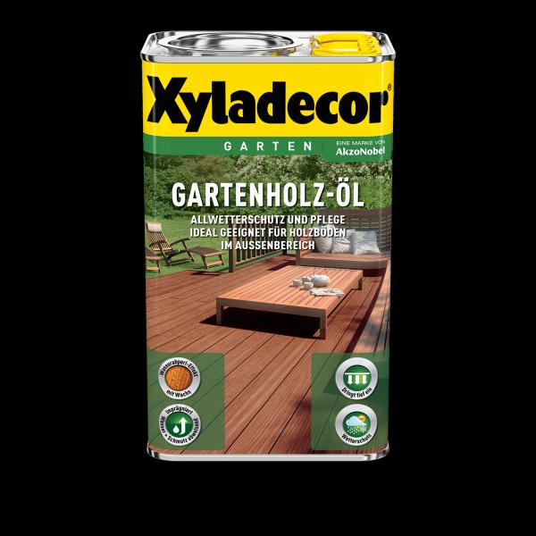 Xyladecor - Gartenholz-Öl Natur, 2,5l natur dunkel
