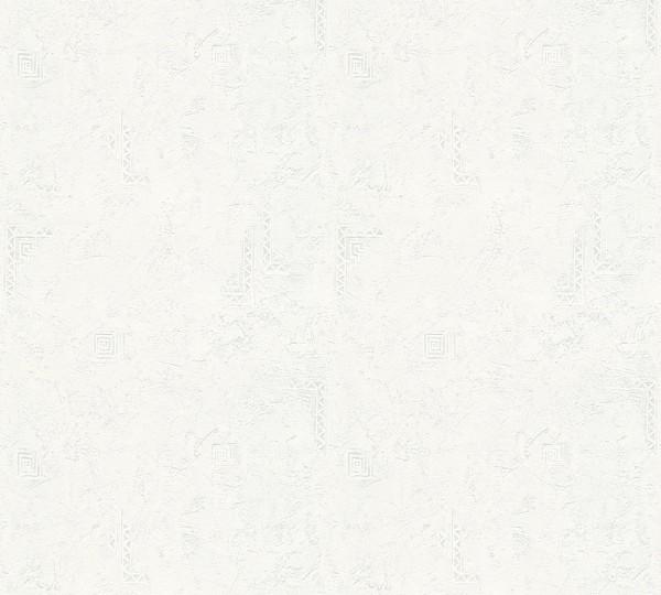 A.S. Création, Meistervlies 2020, # 321916, Vliestapete, uni, Weiß Überstreichbar, 25,00 m x 1,06 m