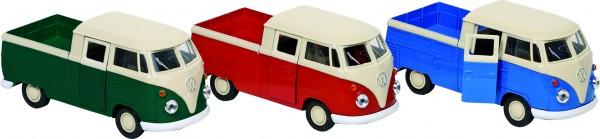 Volkswagen T1 DoKa Pick-up, Spritzguss, 1:38, L= 11,5 cm