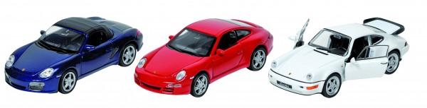 Porsche, Spritzguss, 1:34-39, L= 11,5 - 12 cm