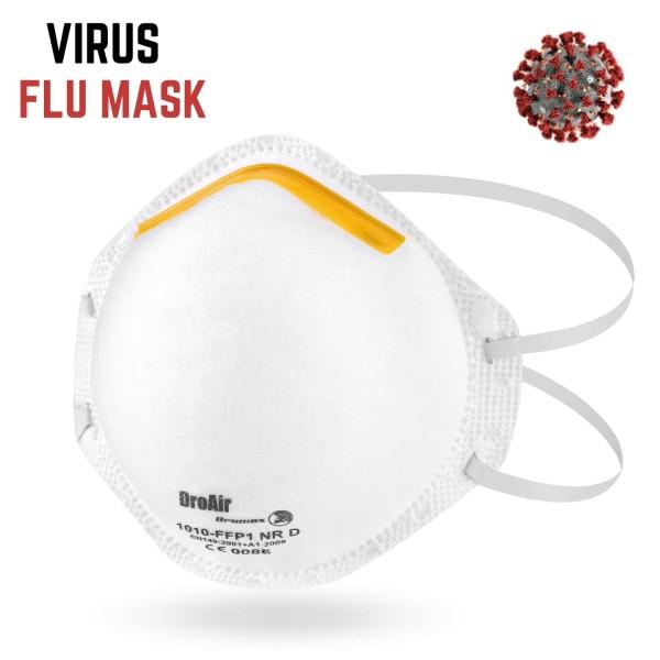 Feinstaubmaske FFP1 2 Stück Atemschutzmaske Hygienemaske