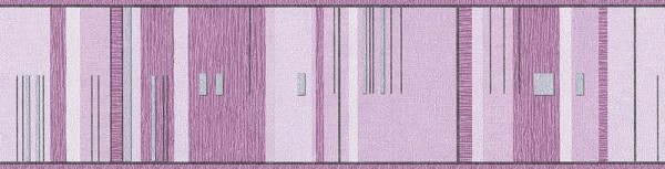 A.S. Création, Only Borders 10, # 677372, Borte aus Papier, Grau Metallic Lila, 5m x 0,13m