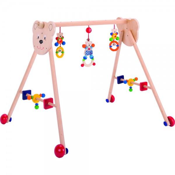 Baby-Fit, Greif-, Spieltrainer und Lauflernhilfe Herzbär
