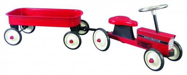 Rutscher Traktor mit Anhänger