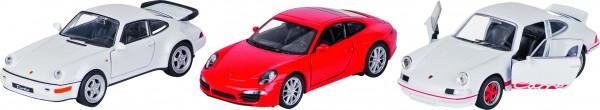 Porsche, Spritzguss, 1:34-39, L= 11,3 cm
