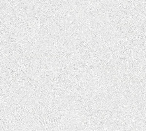 A.S. Création, Simply White 4, # 335715, Papiertapete,uni, Weiß
