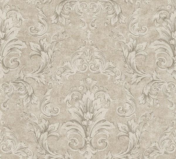 A.S. Création, Versace 2, # 962153, Vliestapete, Beige Grau Metallic, 10,05 m x 0,70 m