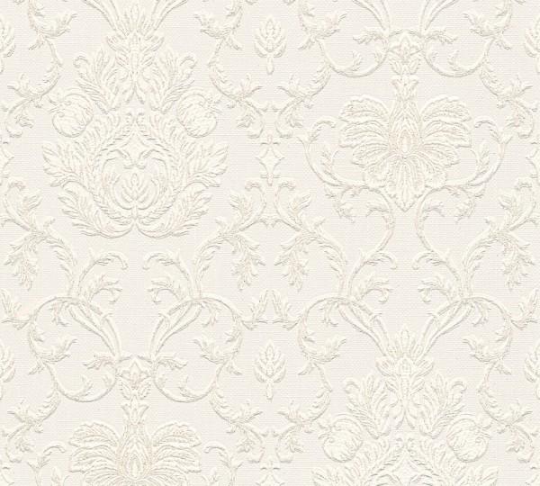 A.S. Création, Belle Epoque, # 538062, Papiertapete, Weiß
