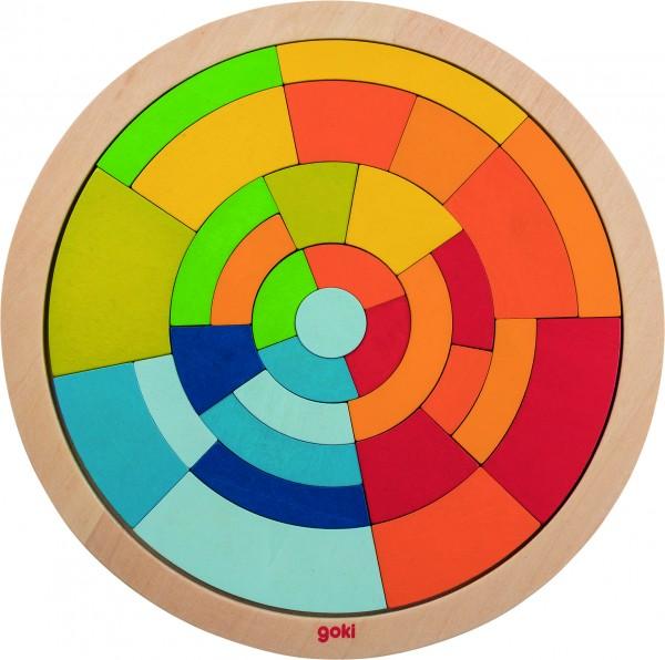 GOKI Einlegepuzzle Kreis