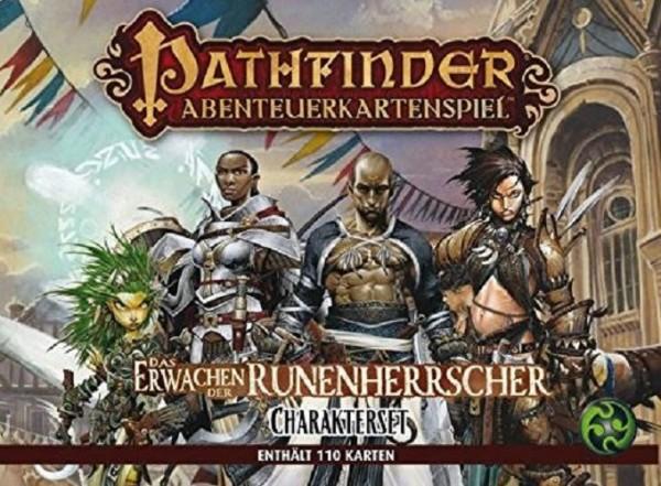 Asmodee - Pathfinder Abenteuerkartenspiel Erwachen der Runenherrscher Charakter-Zusatzpack