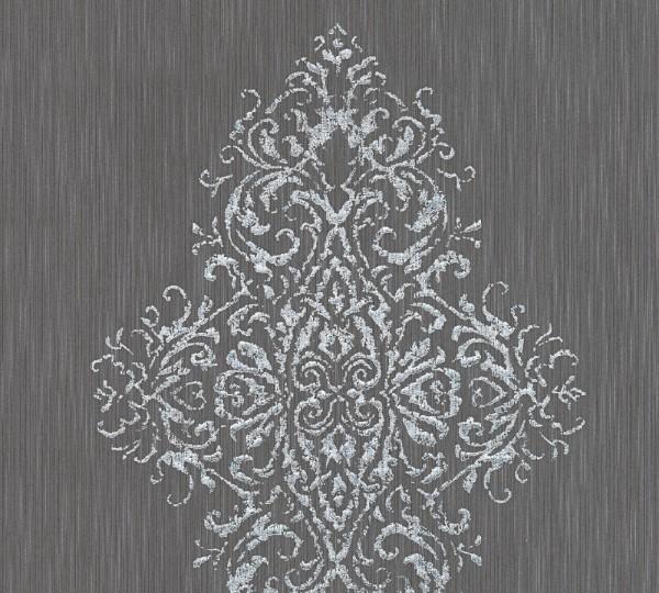 A.S. Création, Luxury wallpaper, # 319454, Vliestapete, Grau Metallic