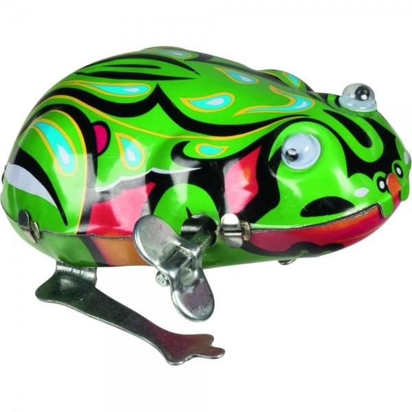Frosch mit beweglichen Augen