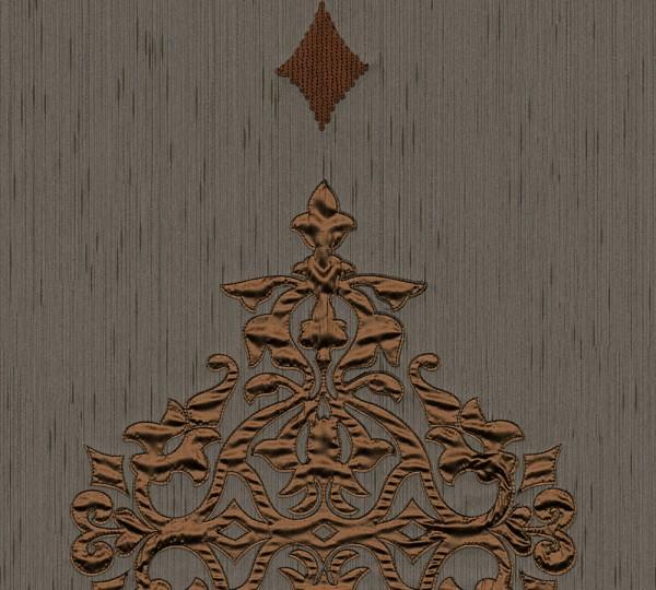 A.S. Création, Wall Fashion, # 306175, Vliestapete, Braun Metallic, 3,20 m x 0,53 m