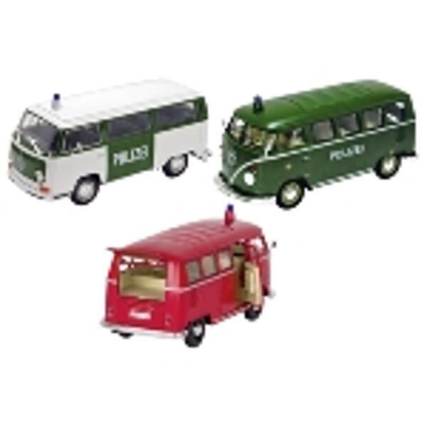 GOKI Volkswagen Bus T1 + T2, Spritzguss, 1:24, L = 16 cm