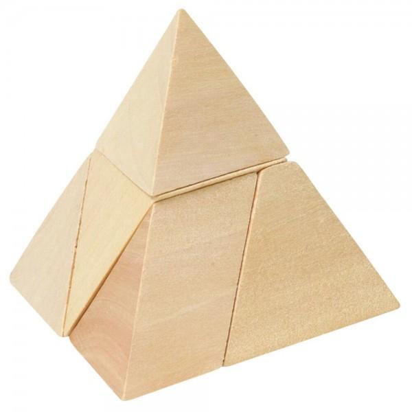Puzzle, Dreiseitige Pyramide
