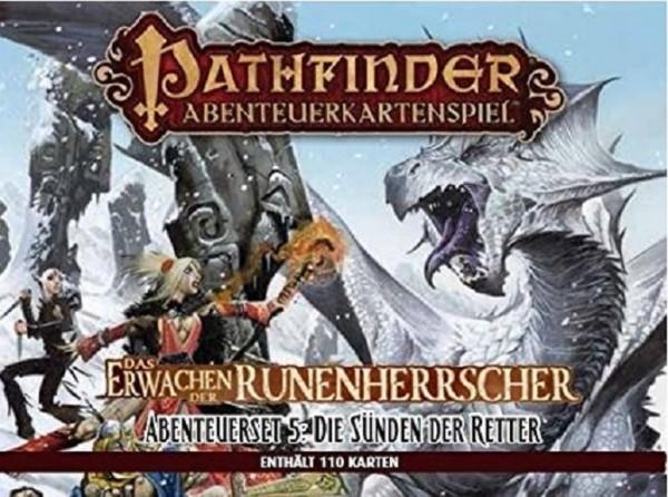 Asmodee -Pathfinder Abenteuerkartenspiel: Die Sünden der Retter - Abenteuerdeck 5 - Das Erwachen der