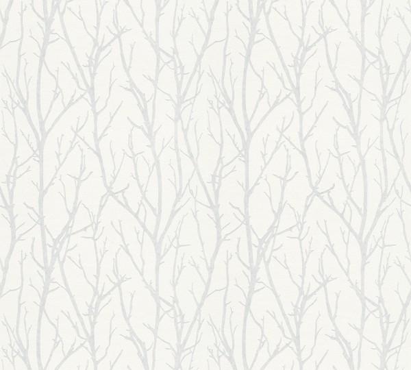 A.S. Création, Meistervlies 2020, # 321114, Vliestapete, Weiß, Überstreichbar, 25,00 m x 1,06 m